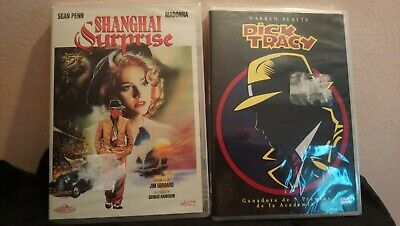 Pack 2 Dvd Madonna :Shangai Surprise+Dick Tracy