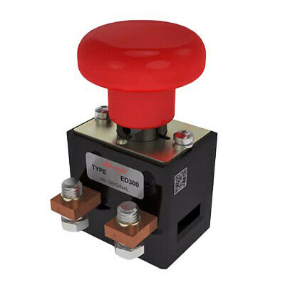 ED300-1 Albright Heavy Duty Emergency Stop Switch 300A 48V Maximum