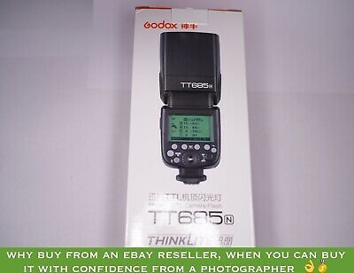 Godox TT685N (TT685-N) TTL flashgun speed light for Nikon