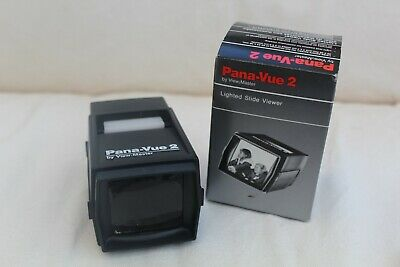 Vintage Pana-Vue 2 Lighted Slide Viewer by View-Master - Boxed