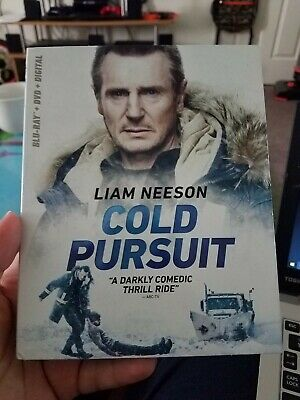 Cold Pursuit Blu-ray /dvd/digital Brand New Sealed W/ Slip Cover No Reserve!