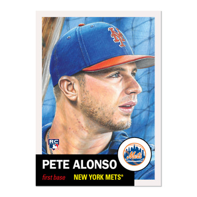 2019 Topps Living Set Pete Peter Alonso Rookie Card Rc #176 Ready To Ship