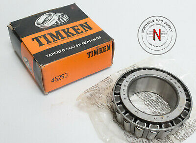 """Timken 45290 Tapered Roller Bearing Cone , Id: 2.500"""" W: 1.22"""""""