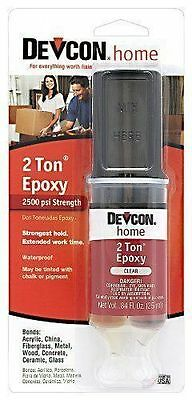 New Devcon 31345 S31 2 Ton Clear Plastic Welder Epoxy Glue Waterproof Adhesive