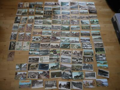 Great Collection Of 117 Mostly British Vintage Postcards Pre 1930