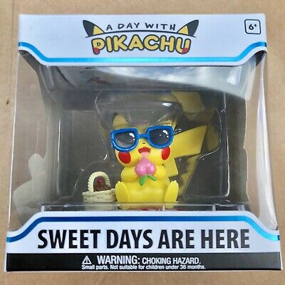 Funko Pokemon - A Day With Pikachu Sweet Days Are Here - Rare May Funko