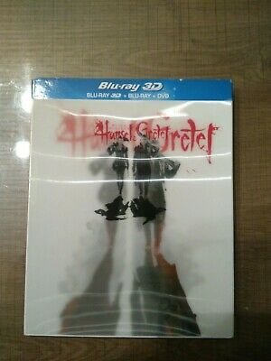 Blu Ray 3D Hansel et Gretel Witch Hunters (hologramme)