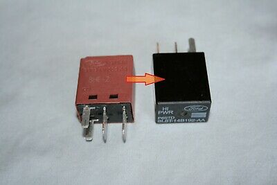 OEM FORD 8L8T-14B192-AA Hi PWR P6STD 4pin relay - $3.90 ... Wiring A Pin Relay on