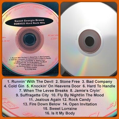 Music CDG Karaoke Singer Cover CD Oldies Rock Country CD+G Male Female Discs 025