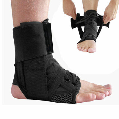 1Pc Sports Adjustable Elastic Ankle Brace Support Basketball Protector Foot Wrap