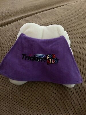 Trident For kids tooth fairy Tooth With Cape Pillow