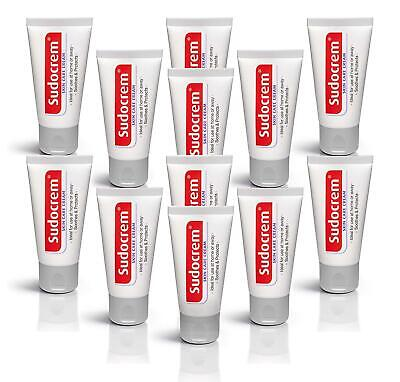 12x Sudocrem Skin Care Cream 30G Tube Sudocream Soothes Protects Travel Mini