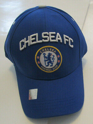 ddf60ce88d755f Men's Chelsea FC Football Club Soccer Hat, New Blue Premier League Cap  Adjustabl