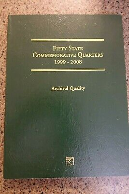 Littleton Coin Folder NO COINS Fifty State Commemorative Quarters 1999-2008 Arch