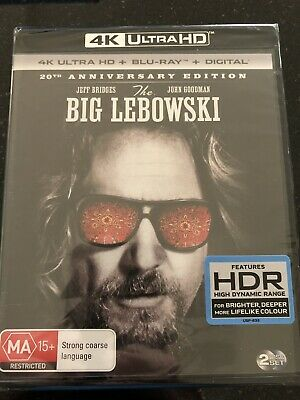 The Big Lebowski****4K Ultra Hd Blu-Ray****Region Free****New & Sealed