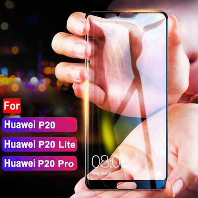 Full Coverage Premium Tempered Glass Screen Protector For Huawei Lite P20 Pro