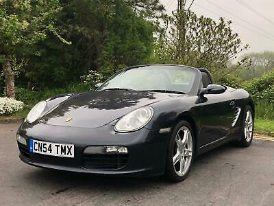 2005 Porsche Boxster Convertible 2.7  Petrol grey Manual