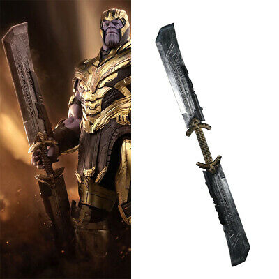 2019 Movie Avengers 4 Endgame Thanos Cosplay Double-edged Knife Weapon Props