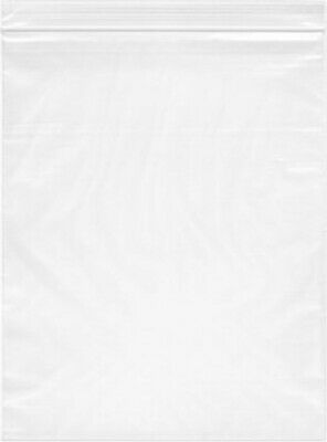 2000- 14X20 Zip Lock 2 MIL Reclosable Resealable Clear Ziplock Plastic Poly Bags