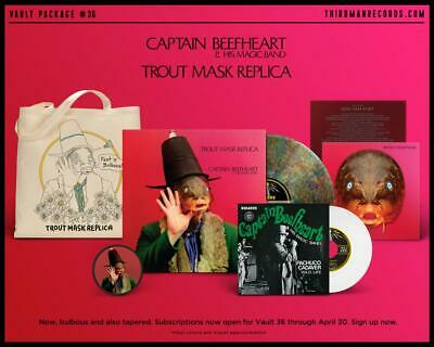 Captain Beefheart Trout Mask Replica Third Man Records Vault 36 Don Van Vliet