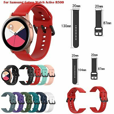 S/L For Samsung Galaxy Watch Active R500 Watchband Strap Sport Band Wristband