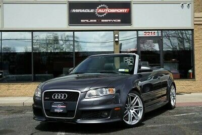 2008 Audi RS4  1 owner convertible free shipping warranty rare exotic finance