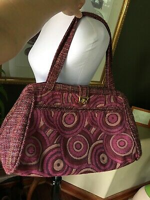 OFFHAND DESIGN Large Tote Project Bag Purse Knitting Crochet
