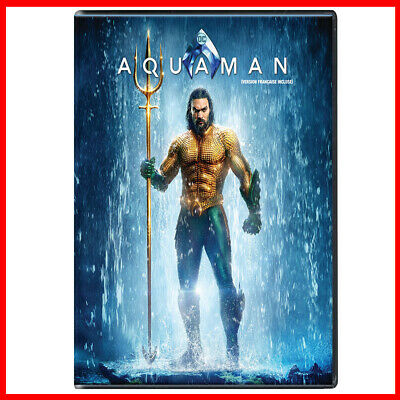 Aquaman DVD - Jason Momoa, Amber Heard - BRAND NEW SEALED