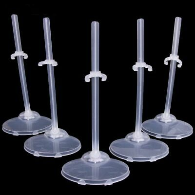 5Pcs Plastic Doll Stand Support Display Show Holder Accessories For Dolls Gift