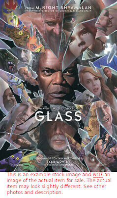 """Glass - 2019 - New Original Movie Theater Poster - Double Sided - 27"""" x 40"""""""