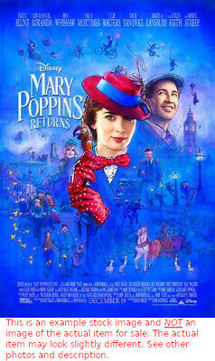 MARY POPPINS RETURNS MOVIE POSTER 2 Sided ORIGINAL FINAL
