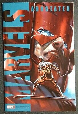 Marvels Annotated #3 (Of 4) Dell'otto Variant Marvel Comics Silver Surfer