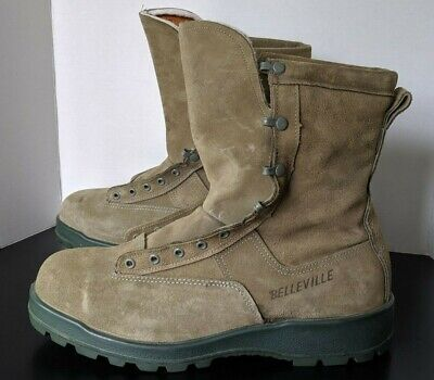fd01daeb0f6 BELLEVILLE 675ST USAF 600g Insulated Waterproof Steel Toe Combat Boots  Men's 12W