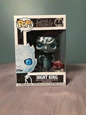 NIGHT KING METALLIC 44 Funko Pop! HBO Game of Thrones Special Edition Exclusive
