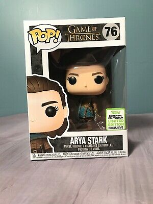 ARYA STARK #76 Funko Pop! Game of Thrones 2019 Spring Convention LE Exclusive