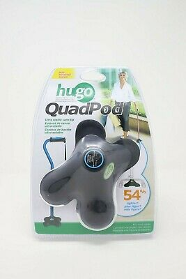 Hugo Mobility Quadpod Ultra Stable Cane Tip with Compact Quad Design 3/4 Inch...