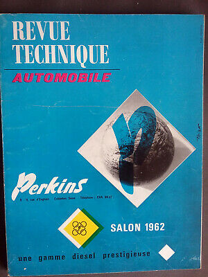 REVUE TECHNIQUE AUTOMOBILE perkins salon 1962