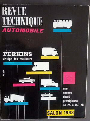 REVUE TECHNIQUE AUTOMOBILE perkins salon 1963