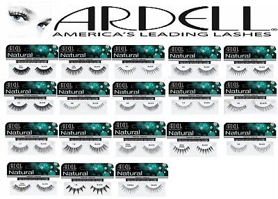 Ardell 100% Human Hair False Eyelashes Fashion Natural & Demi Lashes Brand New