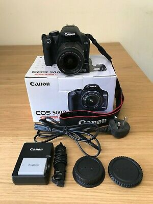 Canon EOS 500D 15.1MP Digital SLR Camera with18-55mm IS Lens