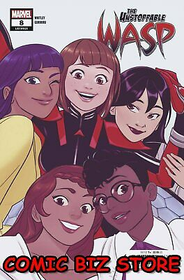 Unstoppable Wasp #8 (2019) 1St Printing Bagged & Boarded Marvel Comics
