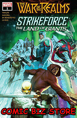 War Of The Realms Strikeforce Land Of Giants #1 (2019) Molina Main Cover ($4.99)