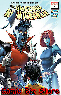 Age Of X-Man Amazing Nightcrawler #4 (Of 5) (2019) 1St Printing Marvel Comics