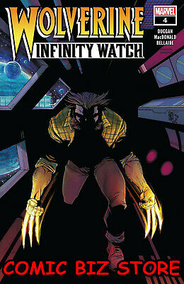 Wolverine Infinity Watch #4 (Of 5) (2019) 1St Printing Main Cover Marvel Comics