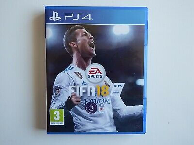 FIFA 18 for PS4 in MINT Condition