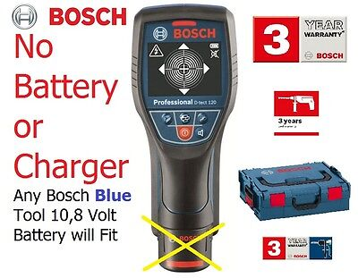 savers BOSCH BARE TOOL DTect 120 PRO L-Boxx Detector 0601081370 3165140780087
