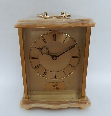 Superb French 8 day Mantel Clock Fully Working 2961