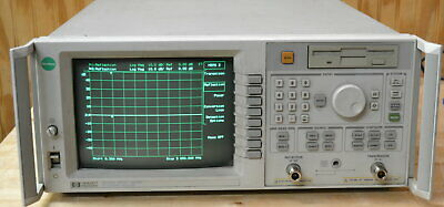 HP Agilent 8713C Transmission/Reflection Network Analyzer 300khz-3GHz 50-Ohms