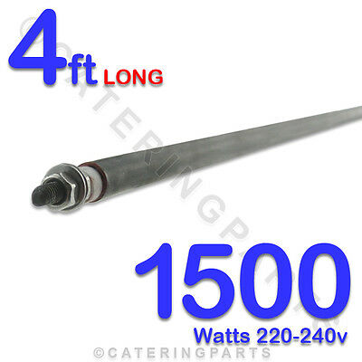 1 x UNIVERSAL 1.5kW 1500W HEATER ROD - WET / DRY HEATING ELEMENT 220V-240V