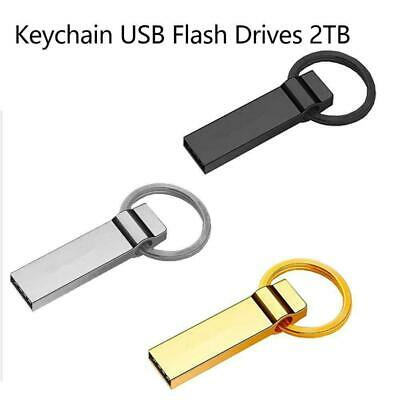 Keychain USB Flash Drives 2TB Pen Drive Flash Memory USB Stick U Disk Stora C0E9